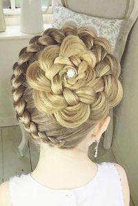17 Best ideas about Kids Wedding Hairstyles on Pinterest ...