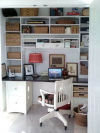 17 Best ideas about Closet Turned Office on Pinterest