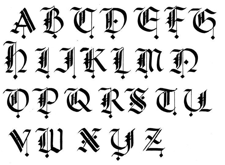 25+ best ideas about Alphabet letters design on Pinterest