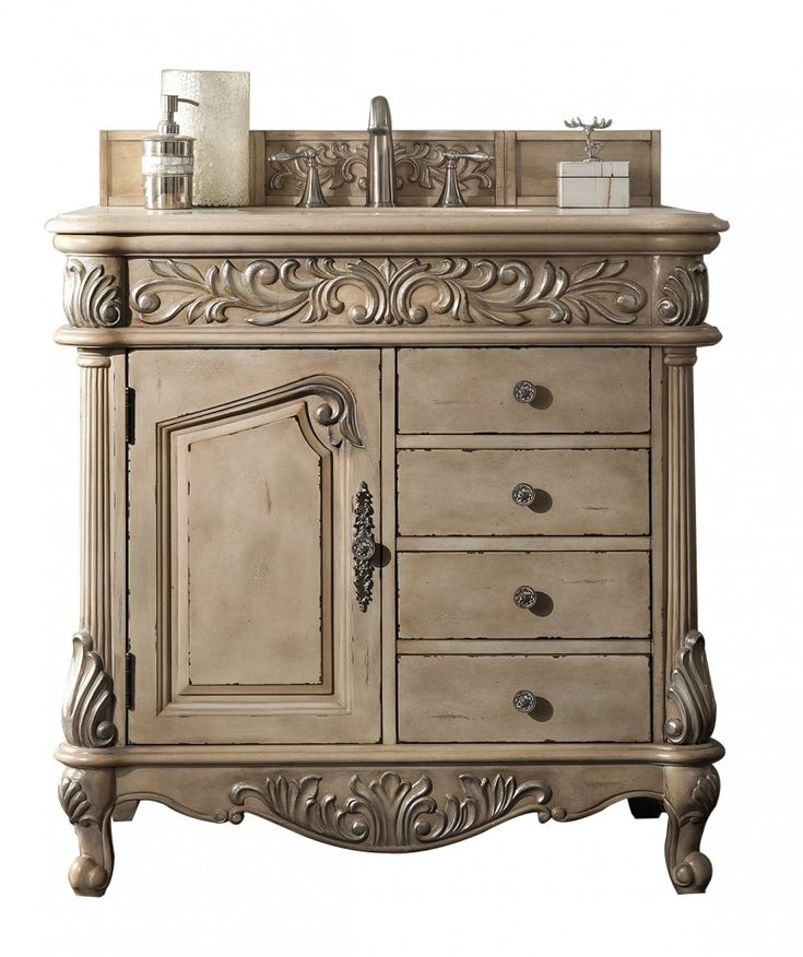 25 best ideas about Antique bathroom vanities on