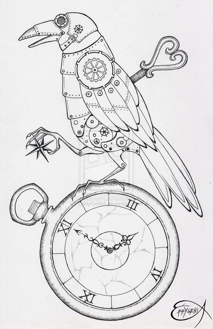 Best 25+ Steampunk drawing ideas on Pinterest
