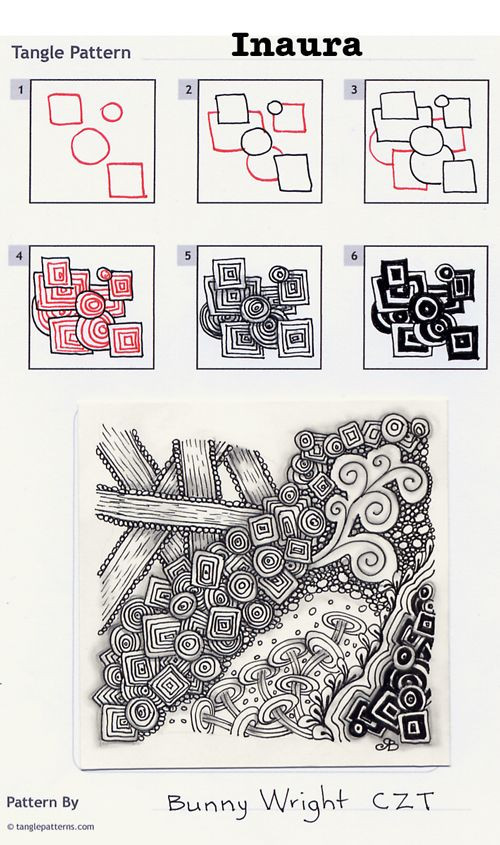 Online instructions for drawing CZT® Bunny Wright's