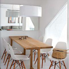 Round Wood Kitchen Table Flooring Ideas Salle à Manger Et En Bois Sur Mesure, Chaises Esprit ...