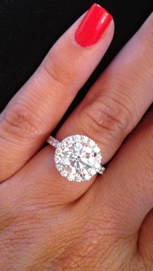 25 Best Ideas about Round Diamonds on Pinterest  Square cut diamond ring Swirl engagement