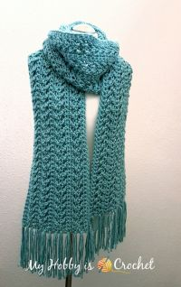 17 Best ideas about Crochet Scarf Patterns on Pinterest