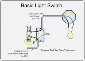 Simple Electrical Wiring Diagrams | Basic Light Switch