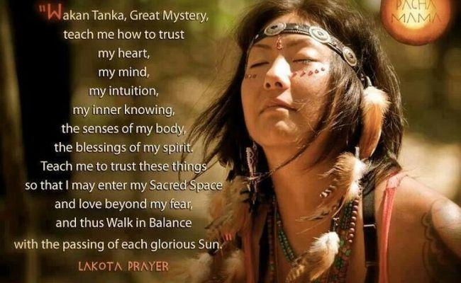 Wakan Tanka A Sacred Lakota Prayer All That Is Divine