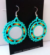 Best 25+ Beaded earrings native ideas on Pinterest