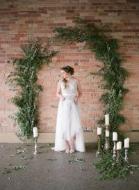 25+ best ideas about Wedding ceremony backdrop on
