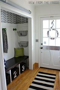 Best 25+ Entryway Closet ideas only on Pinterest | Closet ...