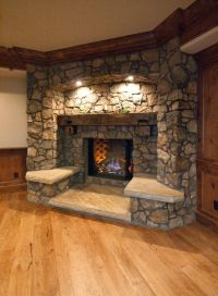 Best 25+ Rustic fireplaces ideas on Pinterest | Rustic ...
