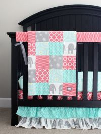25+ Best Ideas about Elephant Crib Bedding on Pinterest ...