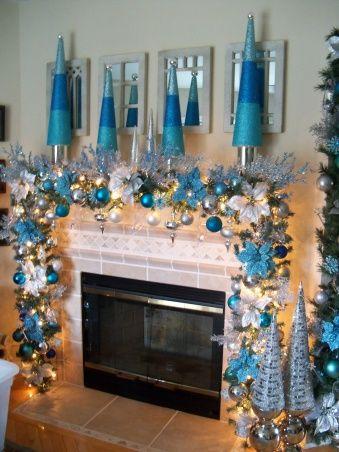 1000 Ideas About Christmas Fireplace Mantels On Pinterest Xmas Decorations Christmas Decor