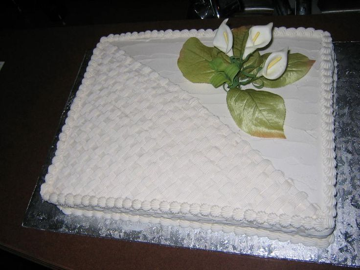1000 Images About Sheet Cake Decorating Ideas On Pinterest