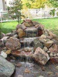 17 Best ideas about Backyard Waterfalls on Pinterest ...
