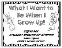 44 best images about When I Grow Up! Themed Activities and