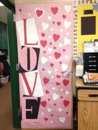 Valentine's day classroom door | 1st Grade - Holidays ...