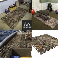 #New Realtree Xtra Camo Floor Composite Tiles. These Camp ...