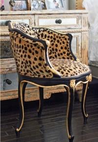 Faboo leopard print vanity chair   Dream rooms   Pinterest ...
