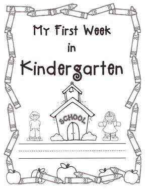 Best 25+ Beginning of kindergarten ideas on Pinterest