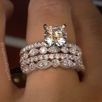 25+ best ideas about Stacked Wedding Bands on Pinterest ...