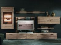 Rustic Wooden LCD TV Wall Unit Design Ideas with Many ...