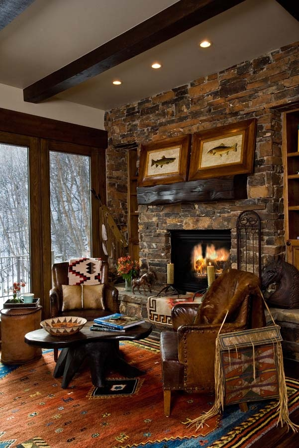 1000 images about Rustic Elegance on Pinterest  Ralph lauren Fireplaces and Vaulted ceilings