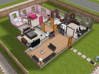 sims story bedroom modern teen designs