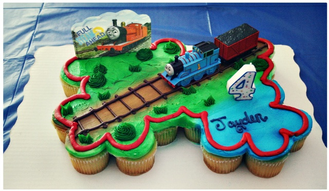 Thomas The Train Cakes And Sweets Pinterest 4th