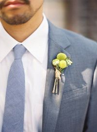 With vest, robins egg blue tie or coral/blush tie Groom in ...