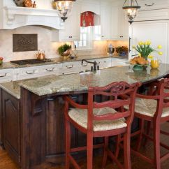 Red Kitchen Islands Cabinets Painting Ideas Island - Not The Style, But Amount Of ...