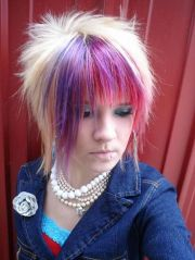 cool short emo hairstyles