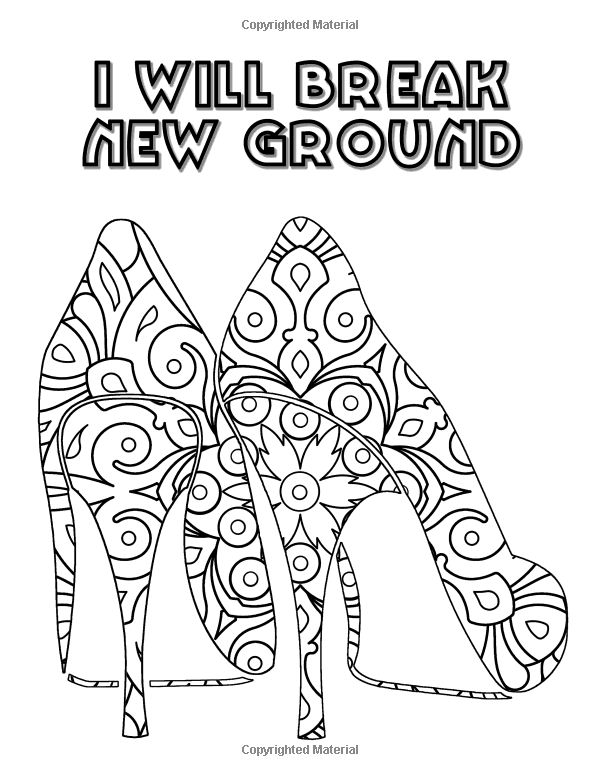 Positive Affirmation Coloring Pages Quotes Sketch Coloring