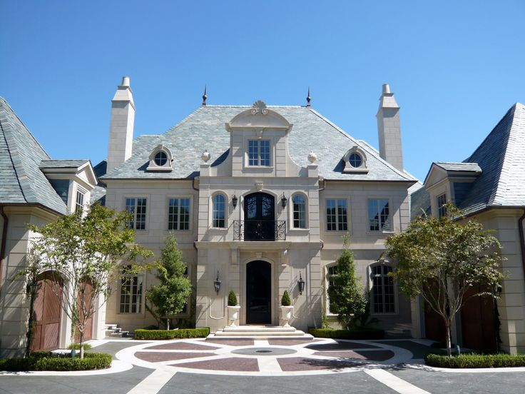 French Classical House In Highland Park, TX. French