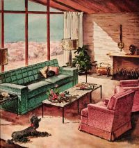 1950s Living room: a collection of ideas to try about Home ...
