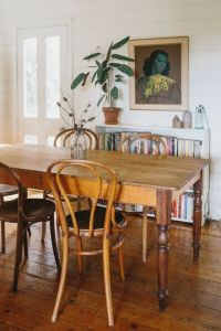 Rustic / vintage dining table in a super relaxed, boho ...