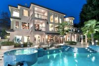 gorgeous backyard pool and AMAZING HOUSE (: my dream home ...