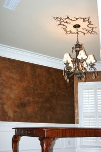 Faux Copper Paint = bronze gold and espresso metallic ...