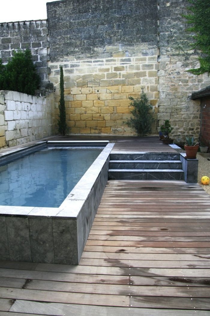 25 best ideas about Piscine Hors Sol on Pinterest  Petite piscine Swimming pool steps and