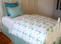 Cute Anchor TWIN 4pc Bedding set by by ...