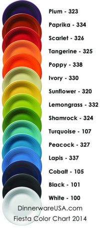 114 best images about Fiestaware on Pinterest   Cookie ...