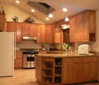 1000+ images about Kitchen: sloped ceiling solutions on ...