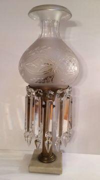 64 best images about Vintage crystal prism lamps on ...