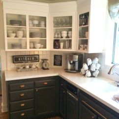 Remodel Kitchens Outside Kitchen Countertops Simply White Upper Cabinets, Urbane Bronze Lowers With ...