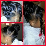 cute hairstyle little girl