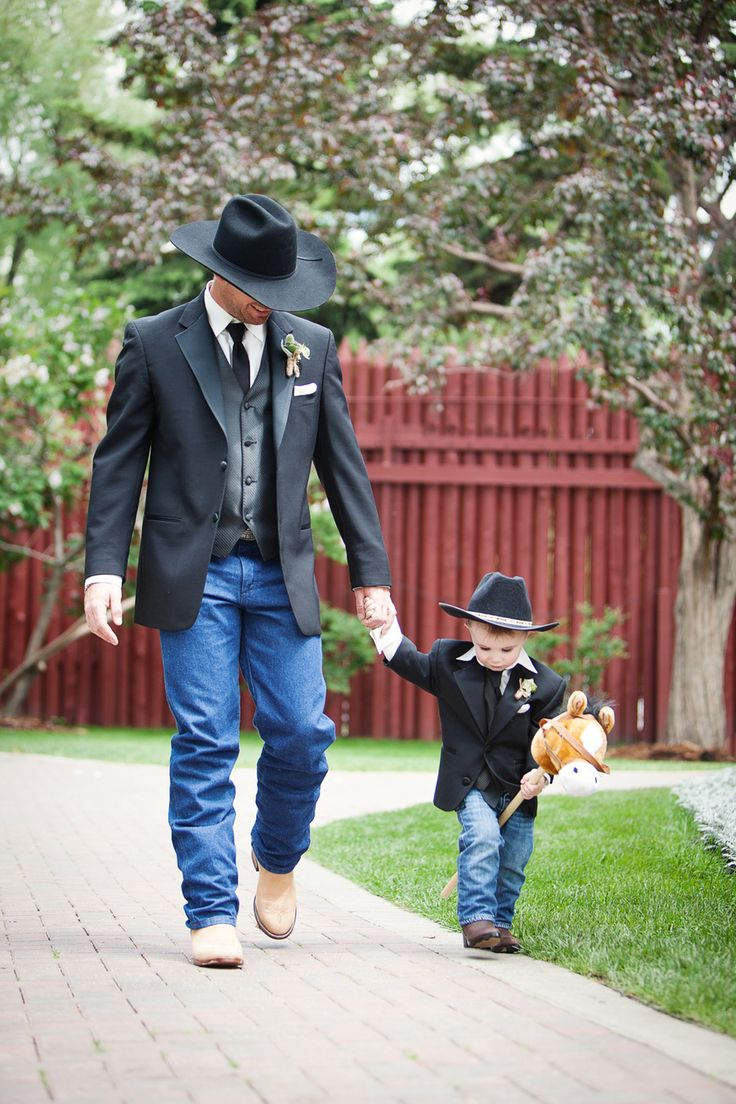 @Cassie Miller ….. Chance and Cash… maybe minus the hats, but thought this was adorable