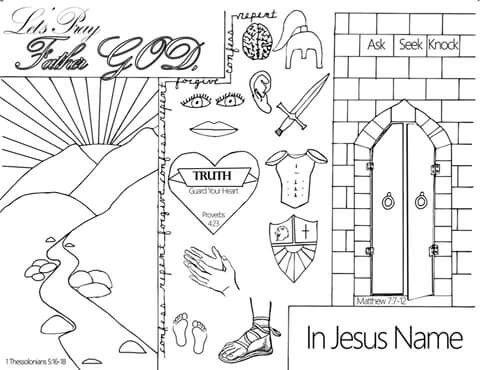 1000+ images about bijbelkleurplaten on Pinterest