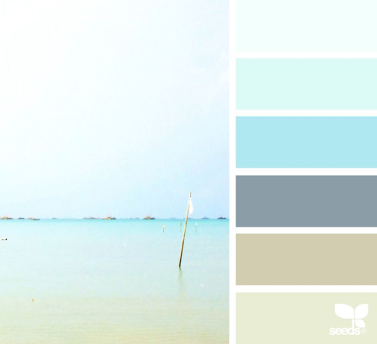 25 Best Ideas About Coastal Color Palettes On Pinterest