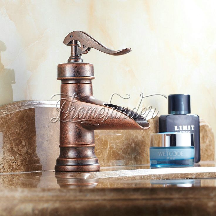 17 Best ideas about Rustic Bathroom Faucets on Pinterest