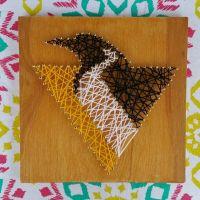 Custom Pittsburgh Penguins Inspired String Art, 8x8 ...